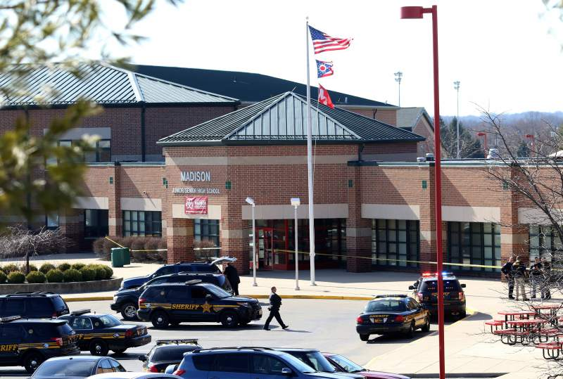 Madison Township, Ohio: 4 hurt, 14-Year-Old Student Arrested in School Shooting