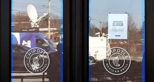 Chipotle Massachusetts Outlet Shut After Workers Fall ill to Norovirus