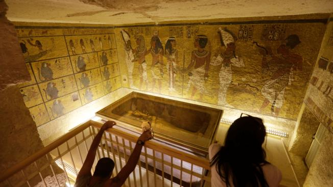 Egypt Says Scan of King Tutankhamun's Burial Tomb Shows Hidden Room