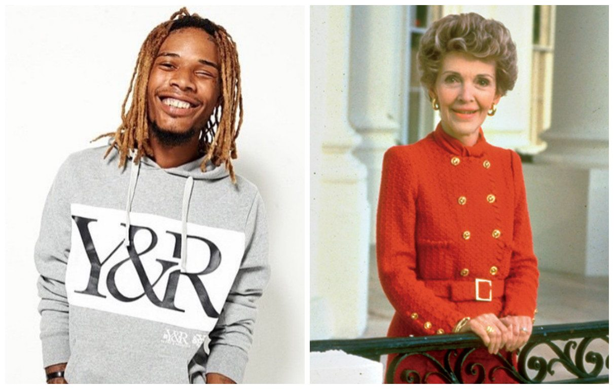 Petition Surfaces to Have Fetty Wap Perform 'Trap Queen' at Nancy Reagan's Funeral