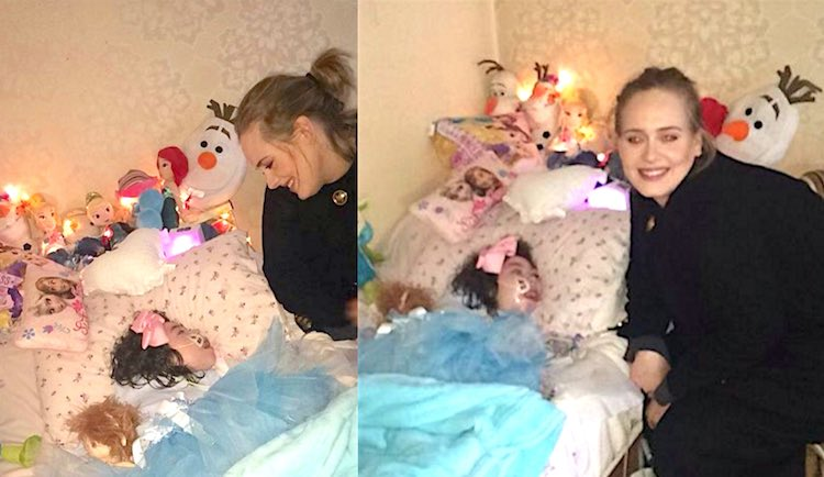 #Adele Visits Terminally Ill 12-Year-Old Girl At Her Home http://bit.ly/1QqwRbb