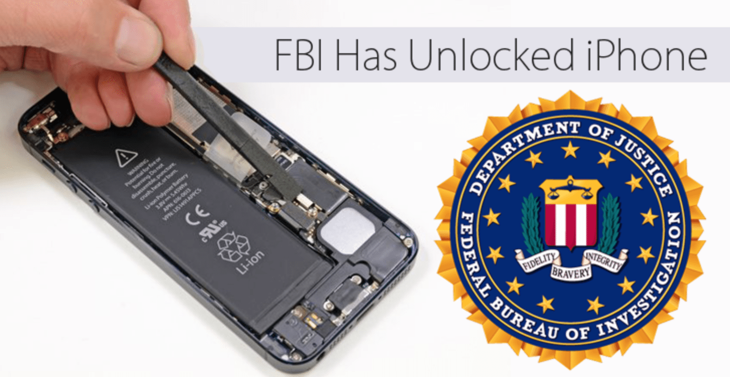 FBI Unlocked San Bernardino Shooter's iPhone; Drops Apple Case