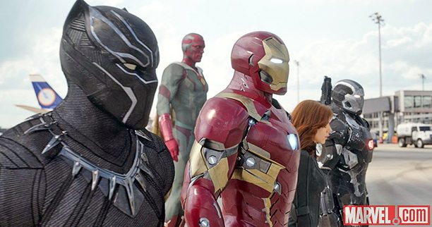 Captain America: Civil War — New Images Go Behind The Scenes