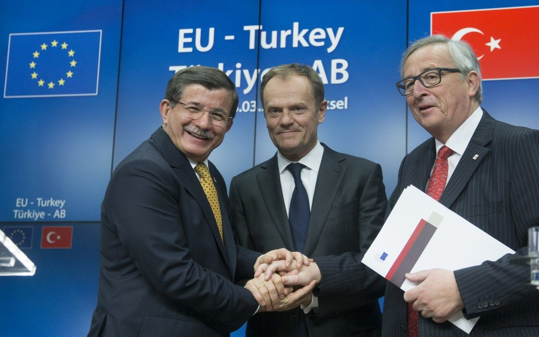 European Union Reaches Agreement with Turkey on Migrants