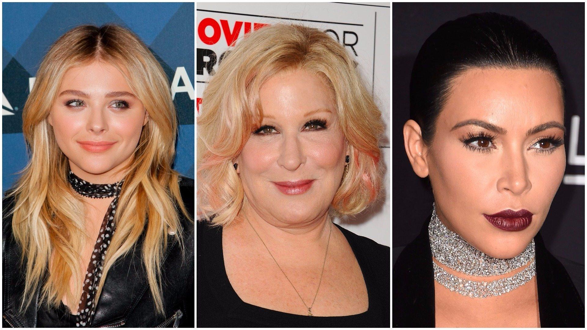 Bette Midler, Chloe Grace Moretz, Kim Kardashian 'Kanye Style' Twitter War