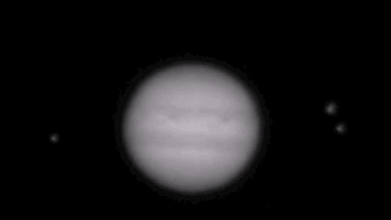 VIDEO Small Celestial Object Collides with Jupiter