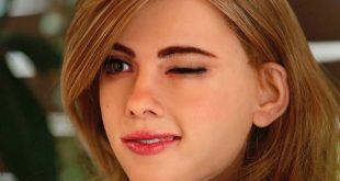 Video: Man Creates Lifelike Scarlett Johansson Robot Using 3D Printer