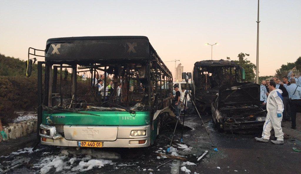 Jerusalem Bus Bomb Blast Injures at Least 21 People