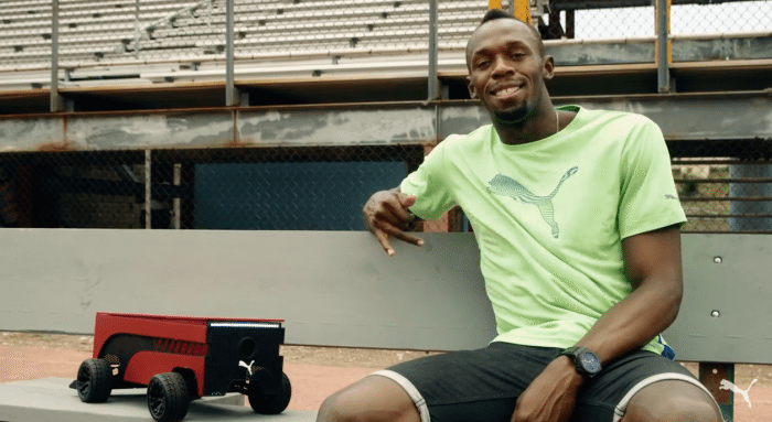 New Puma Robotic Running Companion Can Keep Pace With Usain Bolt