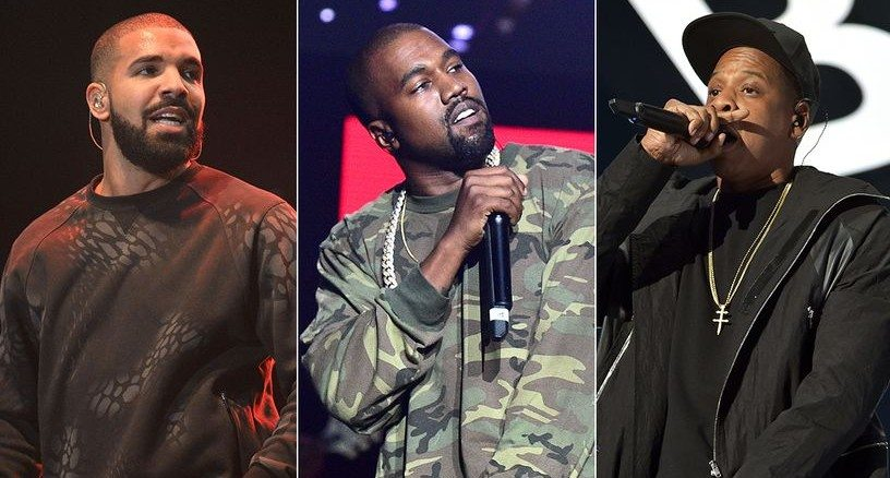 Drake Drops New Music Featuring Kanye West and Jay Z