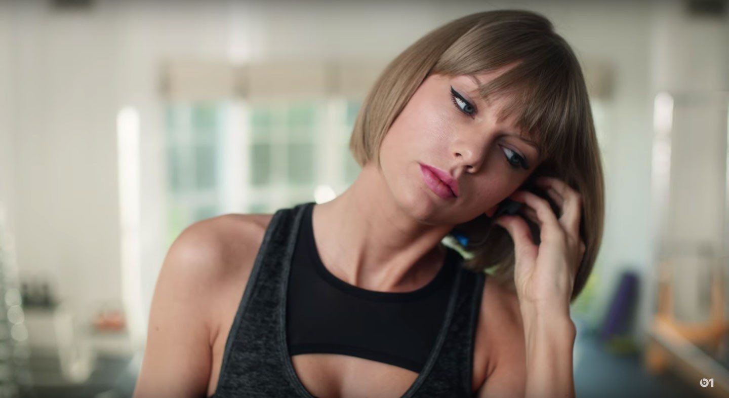 VIDEO Taylor Swift Makes a Fool of Herself to Sell Apple Music