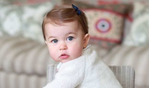 Princess Charlotte of Cambridge: Photographs Released to Mark First Birthday