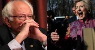 Hillary Clinton Leading Bernie Sanders in California, SurveyUSA Poll Finds