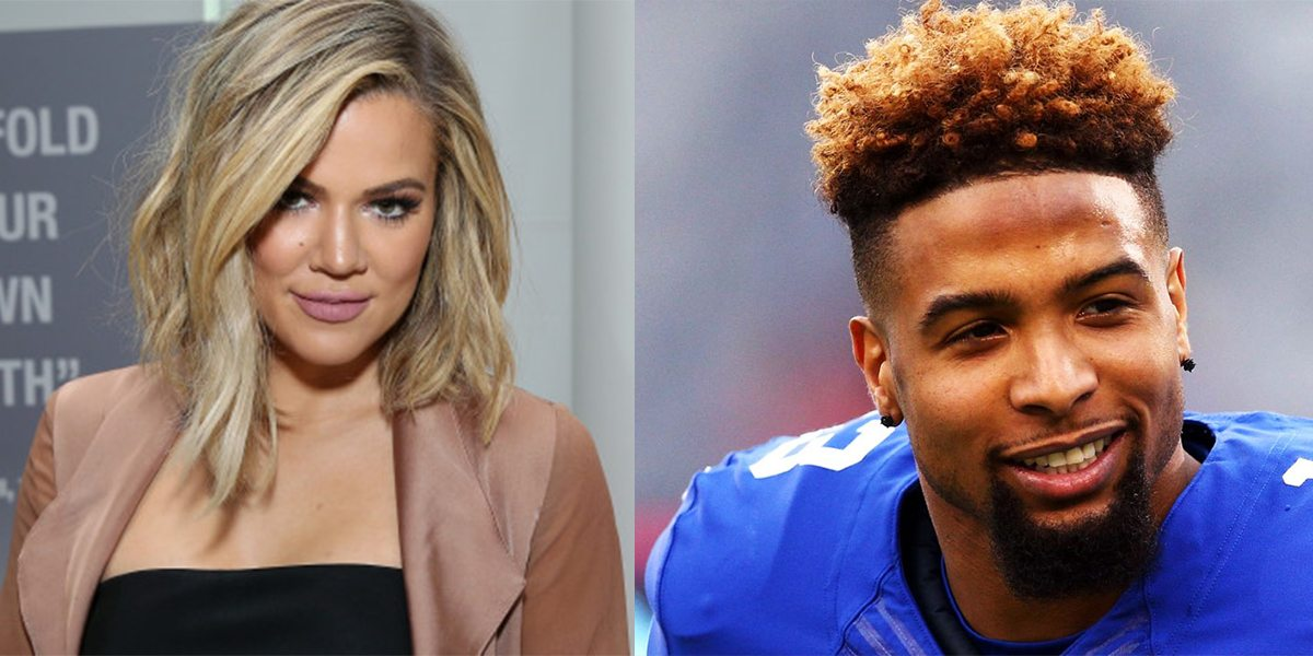 VIDEO Khloé Kardashian Dating NFL Player Odell Beckham Jr.