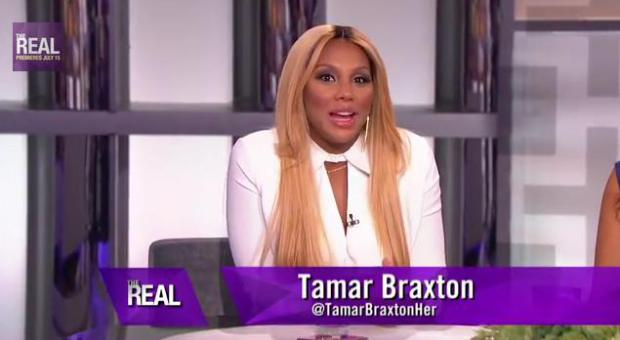 Tamar Braxton Fired From Daytime Fox Talk Show 'The Real'