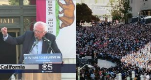 The Media Continues to Berate Bernie Sanders As He Draws Huge Crowd in Oakland