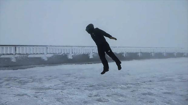 Mount Washington: Video of Man Being Blown Away by 109-Mph Wind