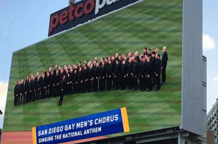 San Diego Gay Men's Chorus Bashes Padres After National Anthem Mistake