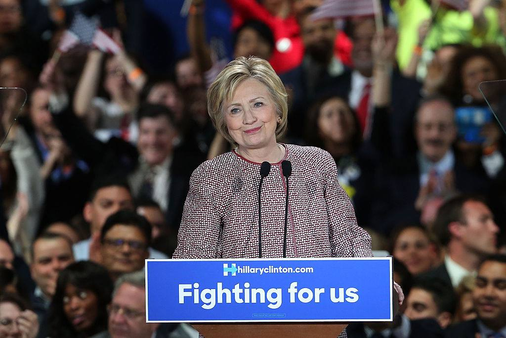 Hillary Clinton gives Inequality Speech in an Armani Jacket Worth '$12,000'