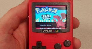 Working Game Boy Made Out Of Burger King Toy