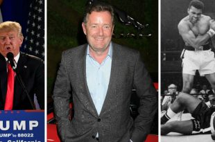 Piers Morgan Under Fire After Comparing Muhammad Ali to Donald Trump
