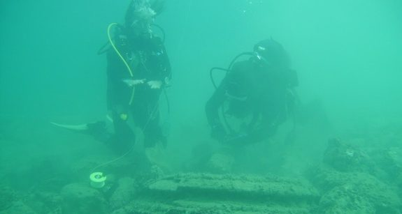 Underwater Ruins Off Greek Island Zakynthos Now Thought to Be Natural Geological Phenomenon