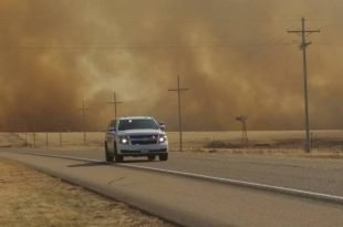 Wildfires Devour the Central US, Killing Several and Damaging Homes