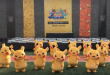 Pikachu parade dance during Pokemon World Festival 2017