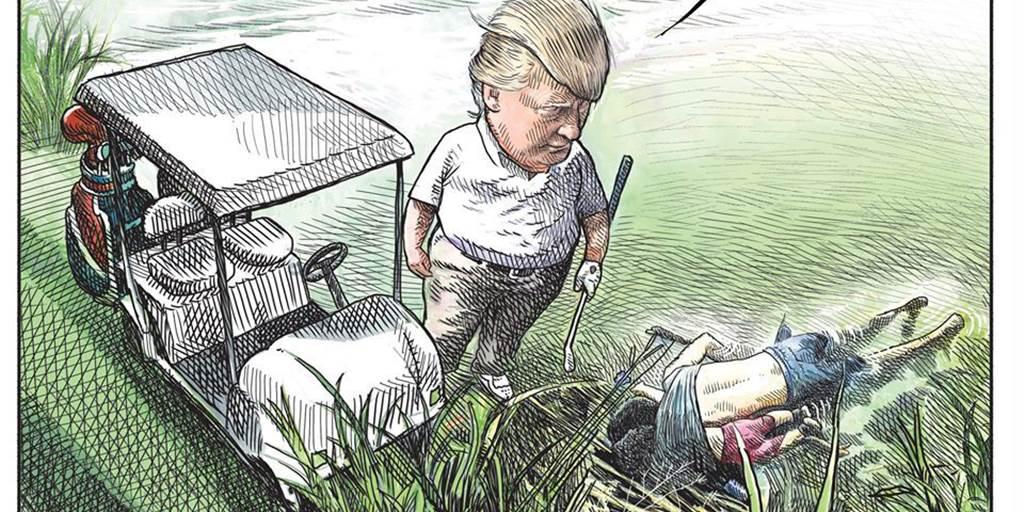 Canadian Artist Fired After Trump Cartoon Goes Viral