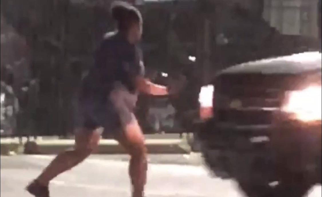 VIDEO Pregnant Woman Fights in Parking Lot, Before Getting Hit and Run Over by SUV
