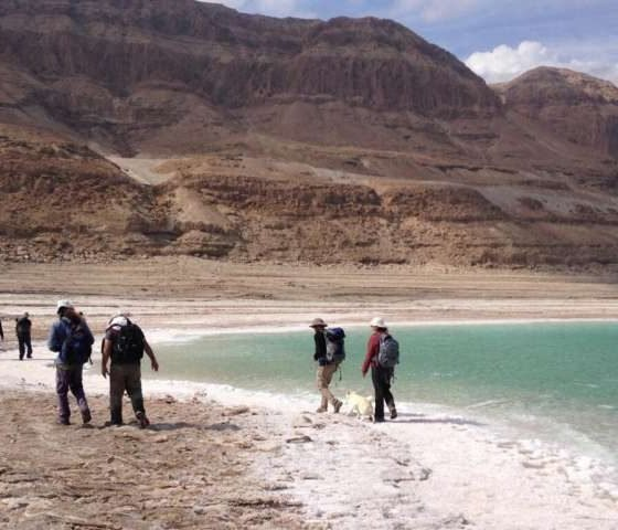 New Study Solves Mystery of Salt Buildup on Bottom of Dead Sea