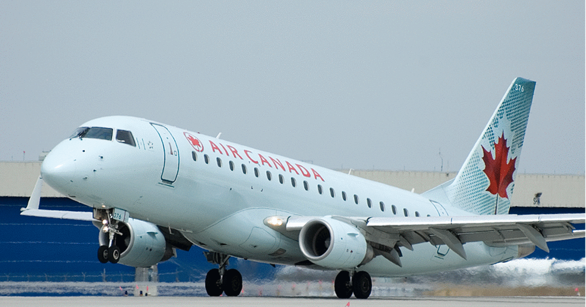 Air Canada Put 2 Strangers In A Hotel Room Together When They Missed A Flight
