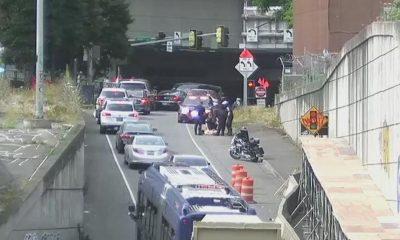 Naked Man Apprehended After Stabbing 3 in Unprovoked Attack on Seattle Sidewalk