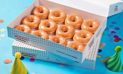 You Can Get a Dozen Krispy Kreme Doughnuts for $1 Today