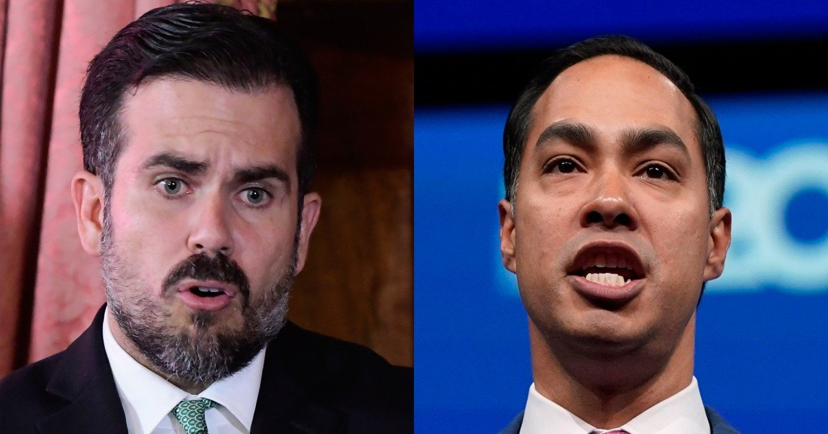 Julián Castro Calls on Puerto Rico Governor to Resign