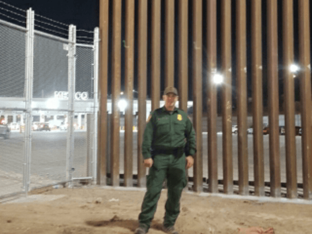 Completed Section of Trump's New Wall Helping Secure Border, Say Agents