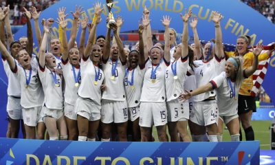 U.S. Women's Soccer Team Win 2019 World Cup Over the Netherlands in 2-0 Final