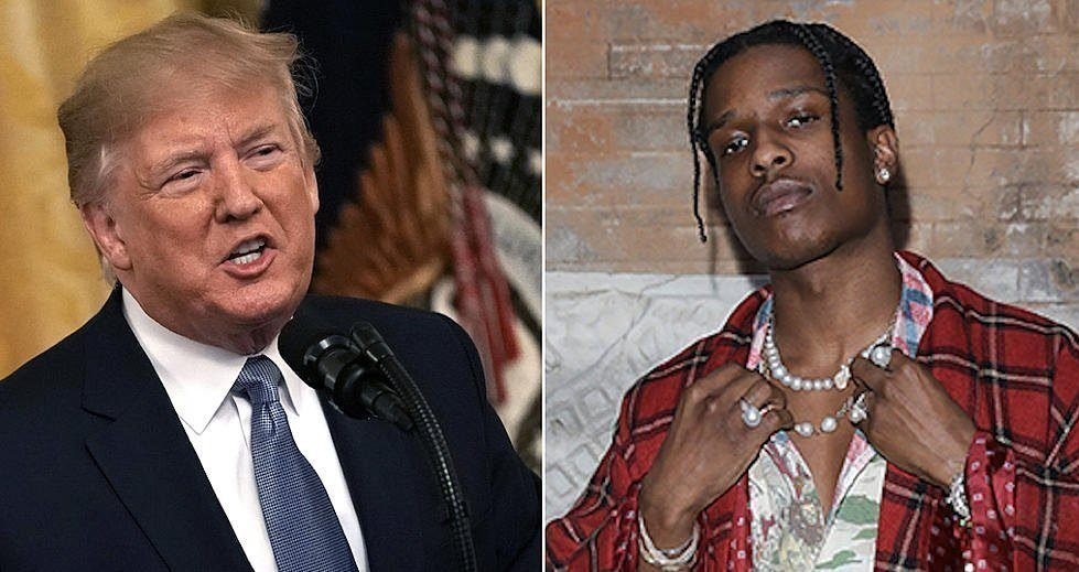 President Trump Offers to Vouch for A$AP Rocky's Bail in Sweden