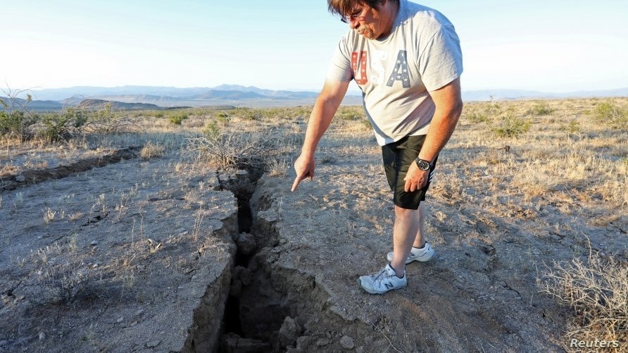 7.1 Magnitude Earthquake Strikes Southern California