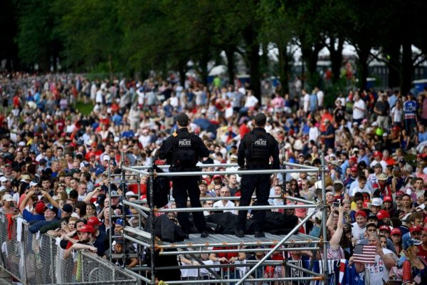 DC Security Fund Dangerously Depleted After Trump's July 4th Event
